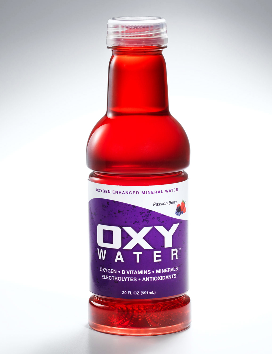 Oxy water Enhanced mineral water