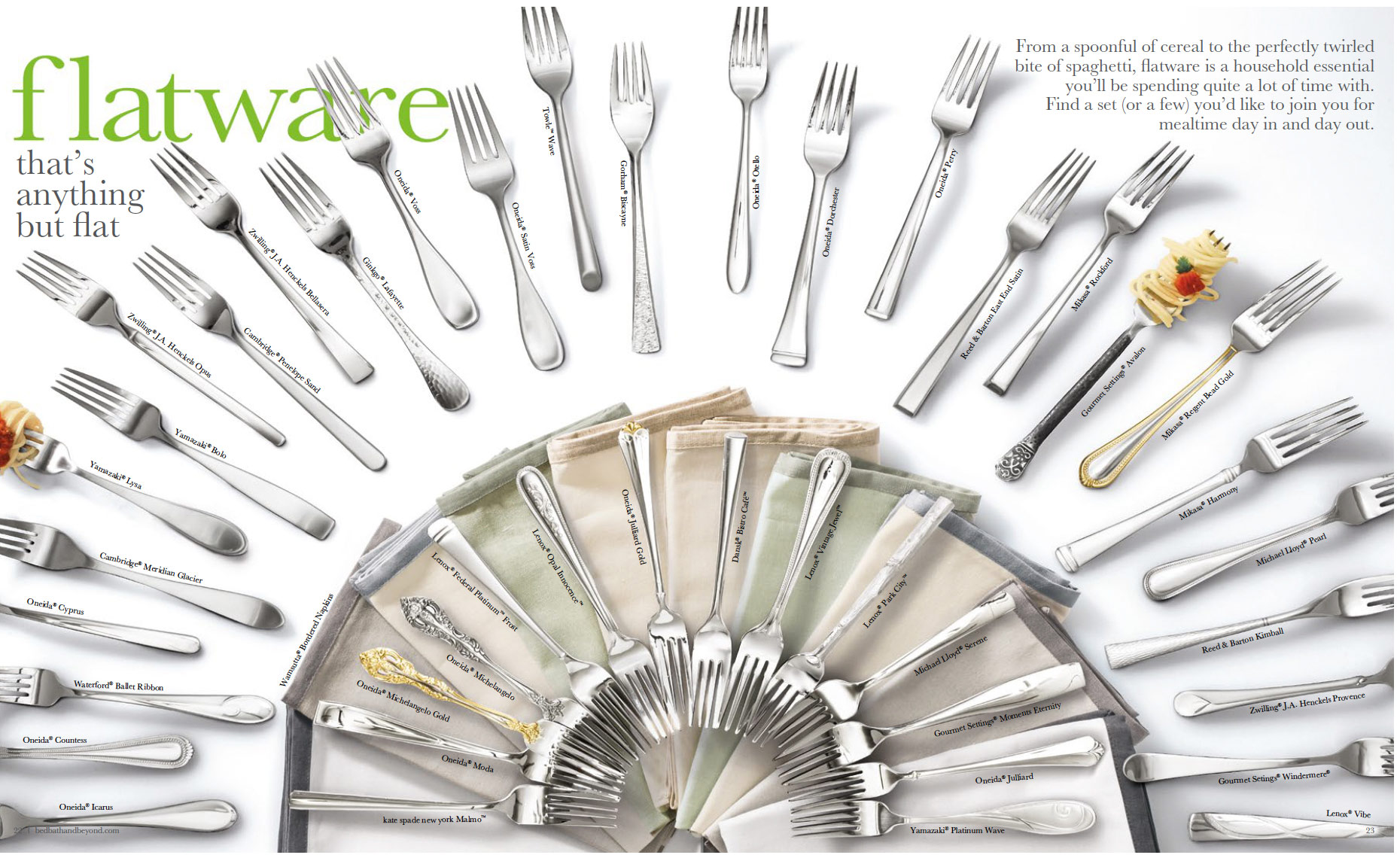 Howbook-flatware