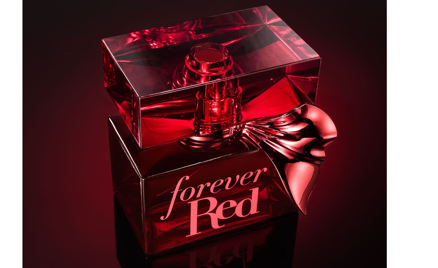 Forever Red bottle